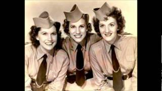 THE BOOGLIE WOOGLIE PIGGY   THE ANDREWS SISTERS 1940's