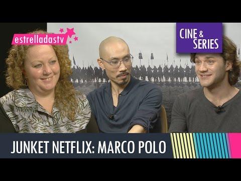 Entrevista Lorenzo Richelmy y Tom Wu. Marco Polo Temporada 2 en Netflix