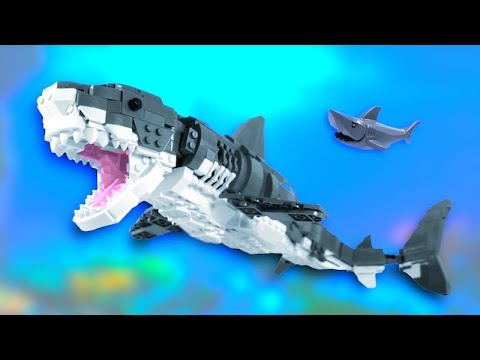 LEGO Megalodon Shark MOC! (Now On LEGO Ideas!)