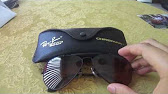 79c058228c Unboxing new old stock Ray Ban Chromax W1664 - YouTube