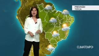 Previsão Brasil – Muita umidade e chuva