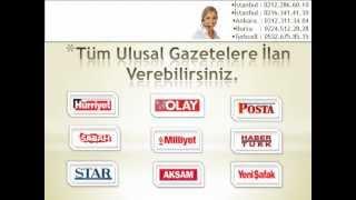 0312.3113404 Gazete Reklam Ajansları Ankara, Adresleri, Telefonları