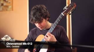 Recording Classical Guitar: Oktava Mk-012 (Cardiod, Omni, MJE K47H Capsules) | Guitarise Test #1