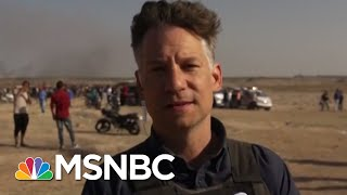 As Gaza Buries Its Dead, Second Round Of Protests Begin | Hallie Jackson | MSNBC thumbnail