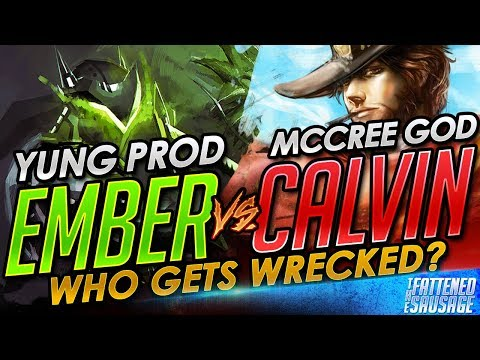 Ember vs AimbotCalvin: ROUND 2! Who Gets Wrecked?