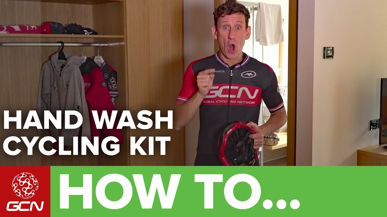 How To Hand Wash Your Cycling Kit. Global Cycling Network dea83a793