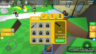 ROBLOX GAMEPLAY: Saber simulator