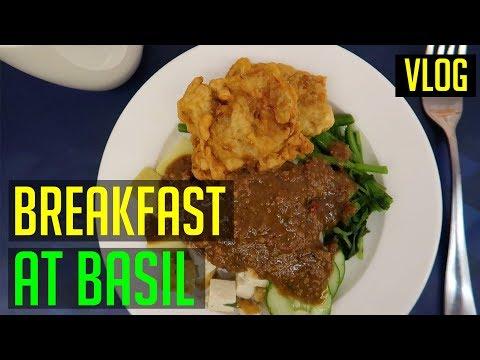 Breakfast at Basil in Aston Batam Hotel and Residence | Batam Travel Vlog