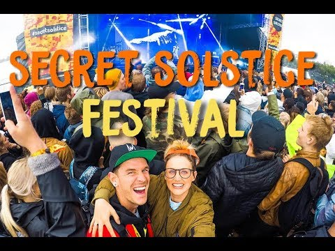 SECRET SOLSTICE FESTIVAL ICELAND 2017 | VIP ENTRY AND MEDIA