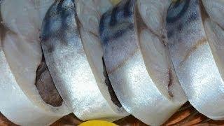Скумбрия маринованная(Самый легкий рецепт маринования скумбрии. Вкус рыбы, получается во много раз вкуснее и нежнее магазинного...., 2014-01-25T19:18:54.000Z)