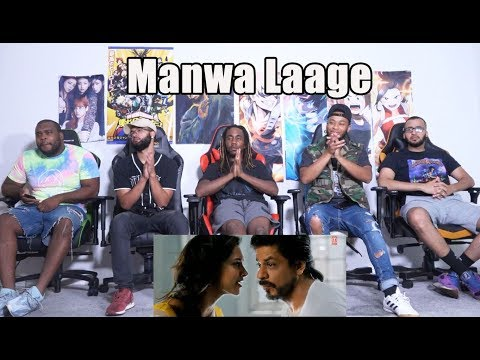 &39;Manwa Laage&39;  Song Reaction  Shah Rukh Khan  Arijit Singh  Shreya Ghoshal