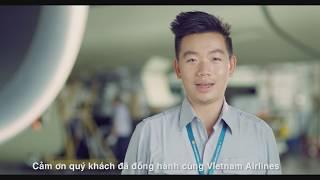 Kỹ sư Vietnam Airlines tri ân 200 triệu hành khách