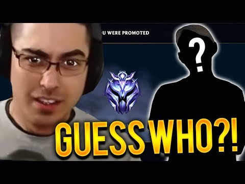 GETTING TO D1... GUESS WHO I FOUND IN SOLO QUEUE?!? -Trick2G