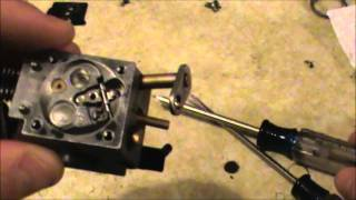 How to clean a carburetor Part 2