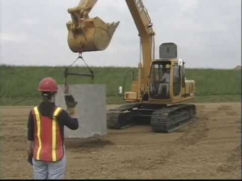 Hand Signals For Construction Equipment - Excerpt From A Complete Training Video