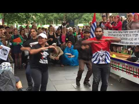 West Papua Global Flag Day Melbourne 2017
