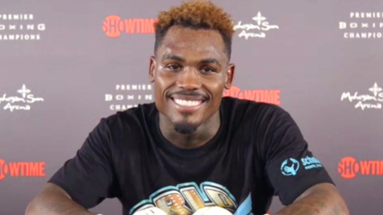 JERMELL CHARLO'S IMMEDIATE REACTION TO CRAZY BODY SHOT KNOCKOUT OF JEISON ROSARIO (POST FIGHT VIDEO)