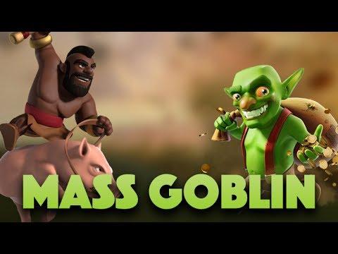 Mass Goblin 3 Star In War | Goblin & Hog Attack (Hoblin) | Clash Of Clans