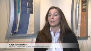 Logistik von DB Schenker für die deutsche Olympiamannschaft 2012