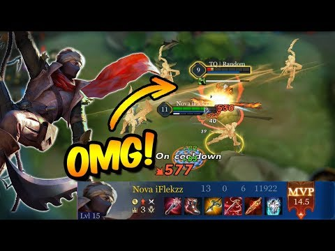 MURAD THE BEST JUNGLE ASSASSIN CLEAN GAME | ARENA OF VALOR