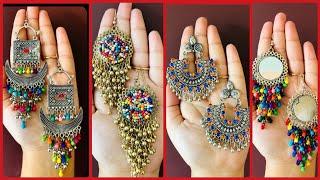 Beaded Earrings // beautiful and latest beaded jewellery