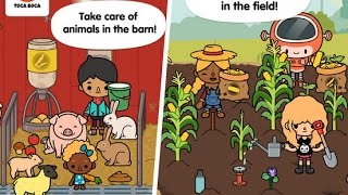 Toca Life: Farm Part 1 - Best iPad app demo for kids - Ellie