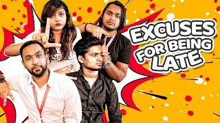 Excuses For Being Late - Choto Azad, Shouvik, ZakiLove | Funny Office Stories