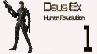 Прохождение Deus ex Human Revolution 1 (ПРОЛОГ)