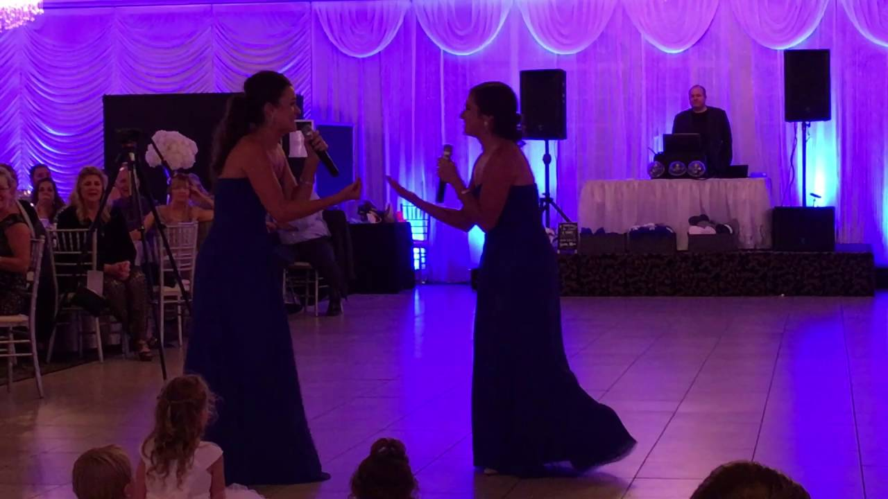 Best Surprise Wedding Speech Song By Sisters Of The Groom