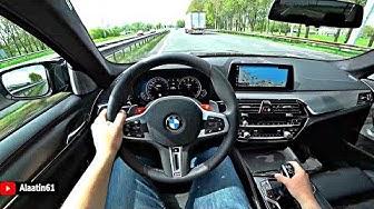 The BMW M5 2020 Test Drive