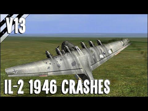 Bomber Crash Landings, Crashes, Takedowns & More! V13 | IL-2 1946 Crash Compilation |