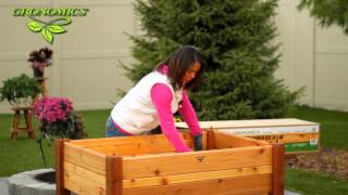 Gronomics® Elevated Garden Beds - Assembly