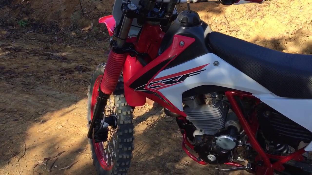 Xr200 Com Motor De Twister Tornado Roupa De Crf Youtube