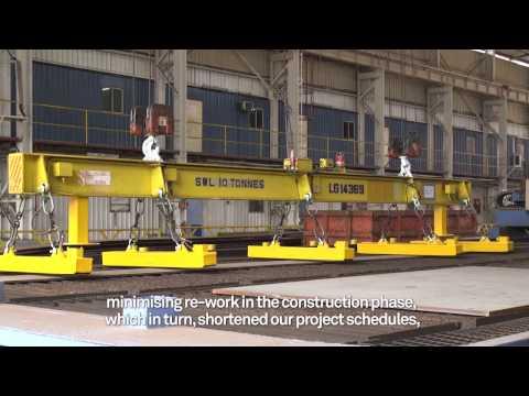 Defining Vessel Construction using Intergraph Smart 3D