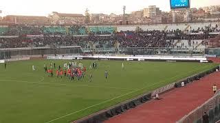 Catania- Catanzaro 0-2 sconfitta e contestazione