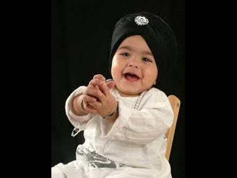 Cute Sikh Babies Wallpapers Sikh Baby Boy Names With C Youtube