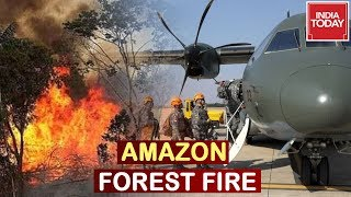 Amazon Forest Fire: Brazilian Troops Deployed For Firefighting
