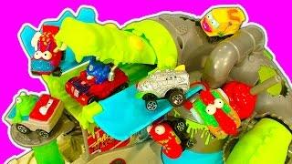 Trash Wheels Sewer Croc Attack & Rubbish Truck Garbage Toy
