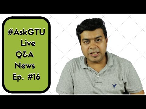 #16 Live Q&A, Upcoming Phones, Review Update, New Announcements