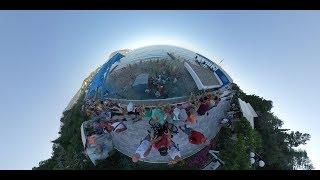 Праздник красок Гурзуф 8.8.2019 Крым видео 360