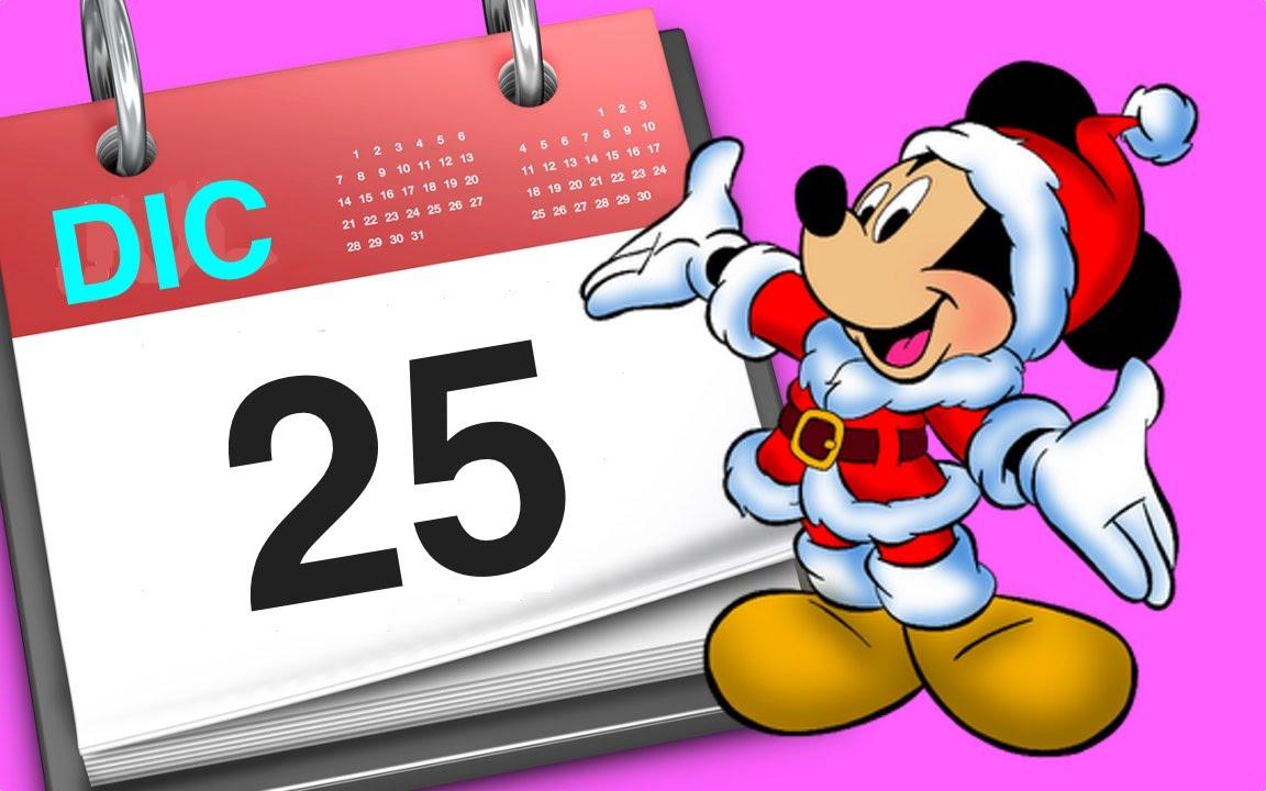 mickey mouse disney unboxing minie mouse colores calendario de adviento de navidad