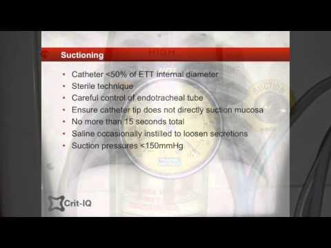 Sputum management in ICU