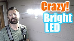 The Brightest LED Security Light On The Market | THE HANDYMAN |