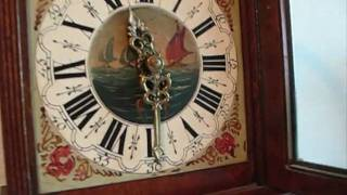 Large Warmink Friese Tailed Wall Clock For Sale On Ebay Uk..