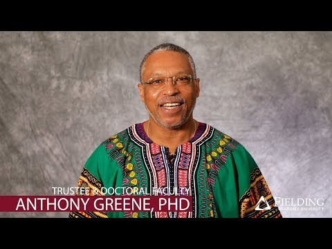 Fielding Graduate University | Doctoral Faculty | Anthony Greene