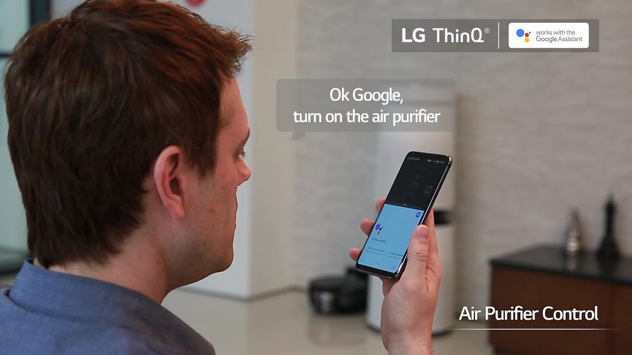 LG Air Conditioner Compatible with SmartThinQ Technology