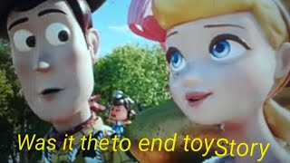 Was toy story 4's ending the best way to end toy story warning spoilers