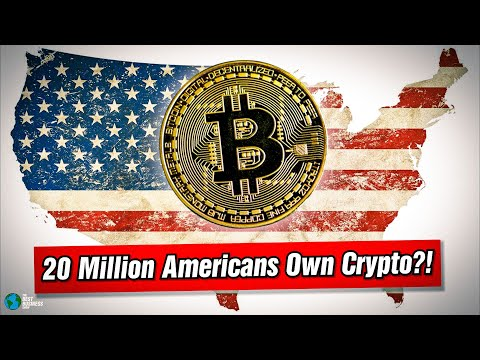 20 MILLION Americans Own Crypto!