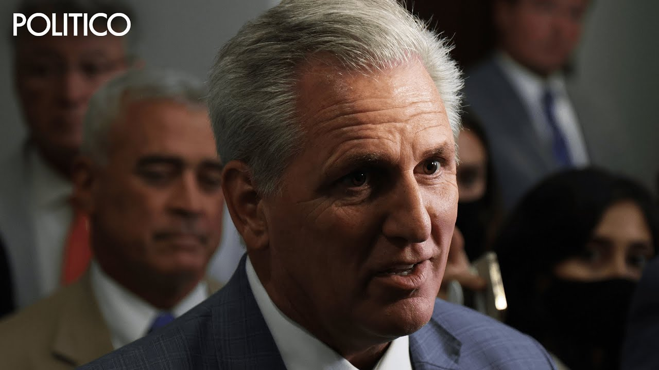 McCarthy jokes about hitting Pelosi with the speaker's gavel