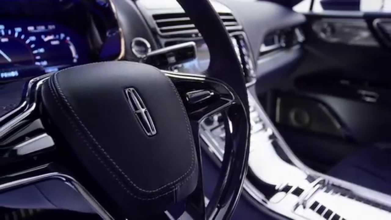 Lincoln continental concept 2015 interior youtube for 2015 lincoln continental interior